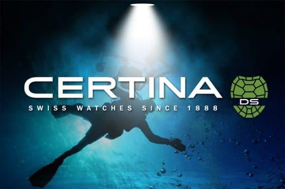Watchtime Spotlight Taucheruhren mit Certina