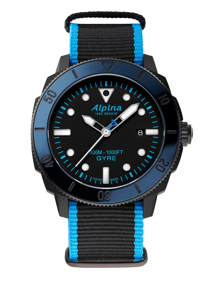 Taucheruhrenspecial 2021: Alpina Seastrong Diver Gyre Atomatic