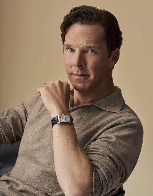 Benedict Cumberbatch trägt die Jaeger-LeCoultre Reverso Tribute Nonantième