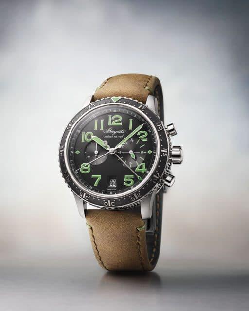 Breguet: Type XXI 3815 mit grünen Anzeigen