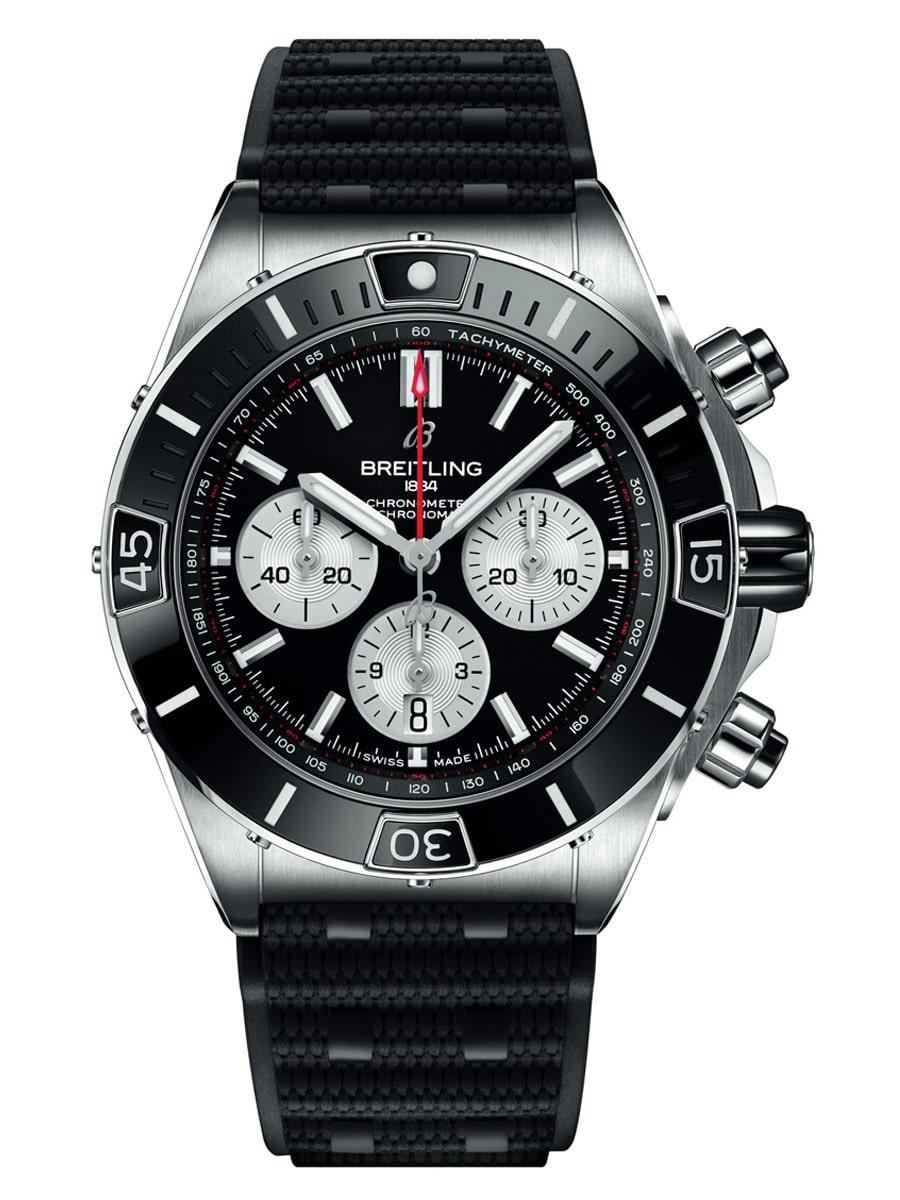 Taucheruhrenspecial 2021: Breitling Super Chronomat B01