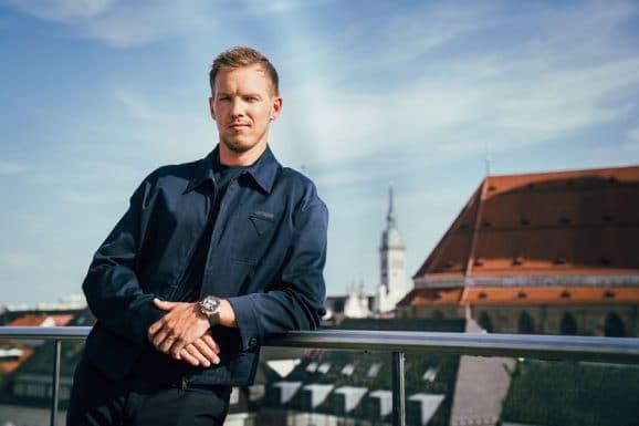 Neuer Bayern-Trainer Julian Nagelsmann ist jetzt Breitling-Markenbotschafter