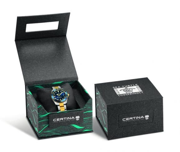 Certina: DS Action Diver Verpackung