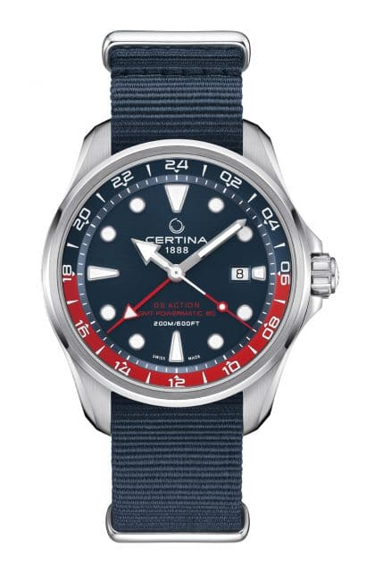 Certina: DS Action GMT