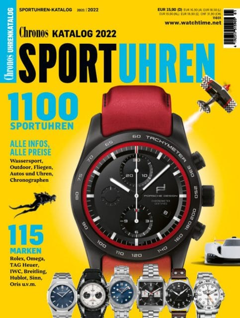 Chronos Sportuhren-Katalog 2021/22