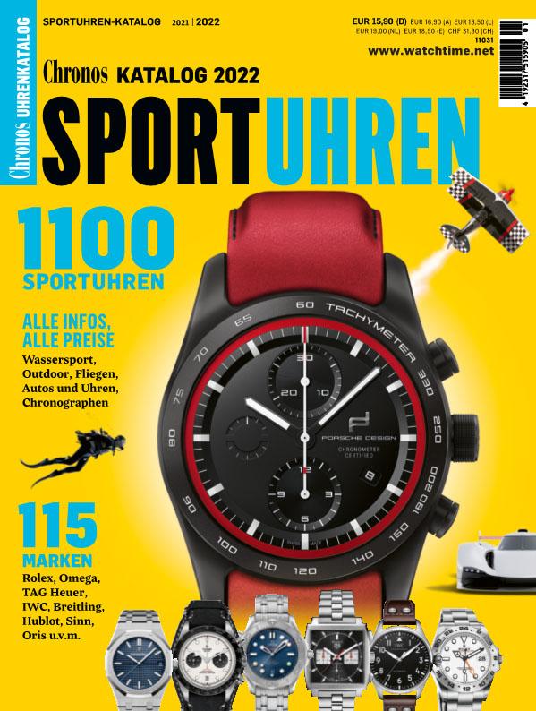 Produkt: Chronos Sportuhren-Katalog 2021/2022