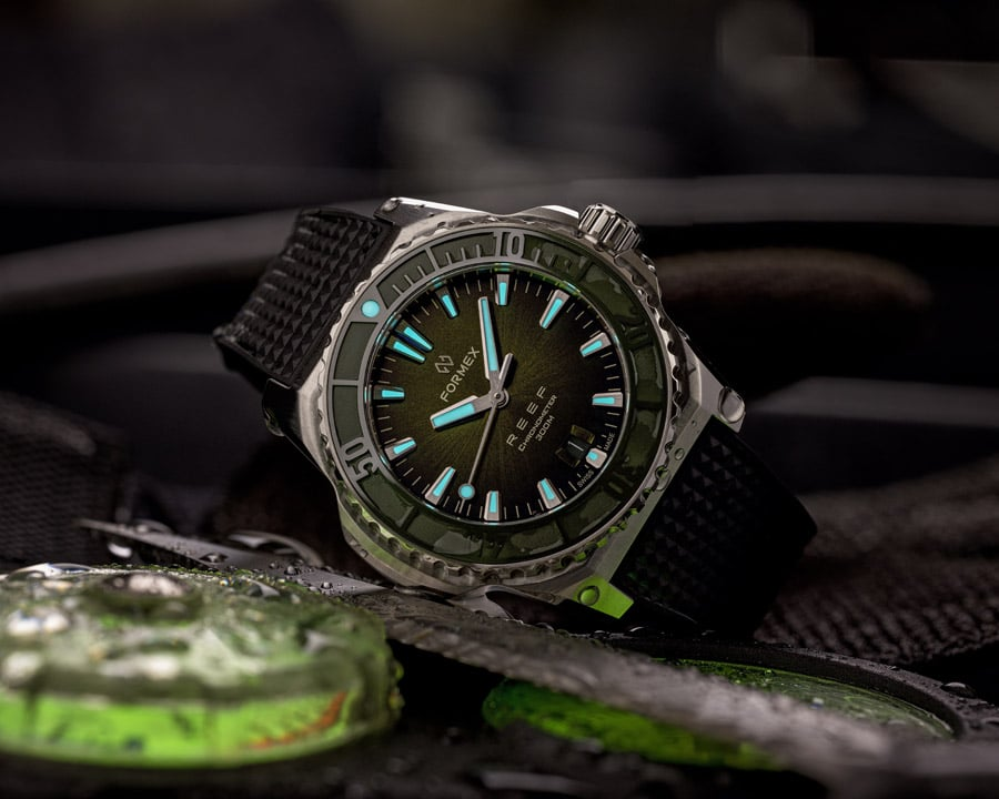 Taucheruhrenspecial 2021: Formex REEF Automatic  Chronometer COSC 300M