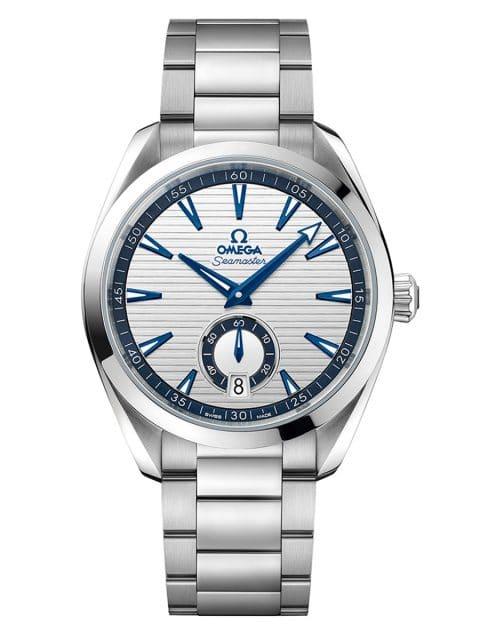 Omega: Seamaster Aqua Terra Small Seconds 41 mm in Edelstahl (6.100 Euro)