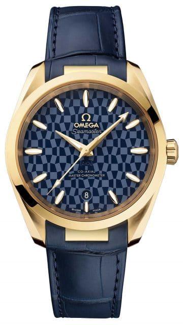Omega: Seamaster Aqua Terra Tokyo 2020 Gold Edition