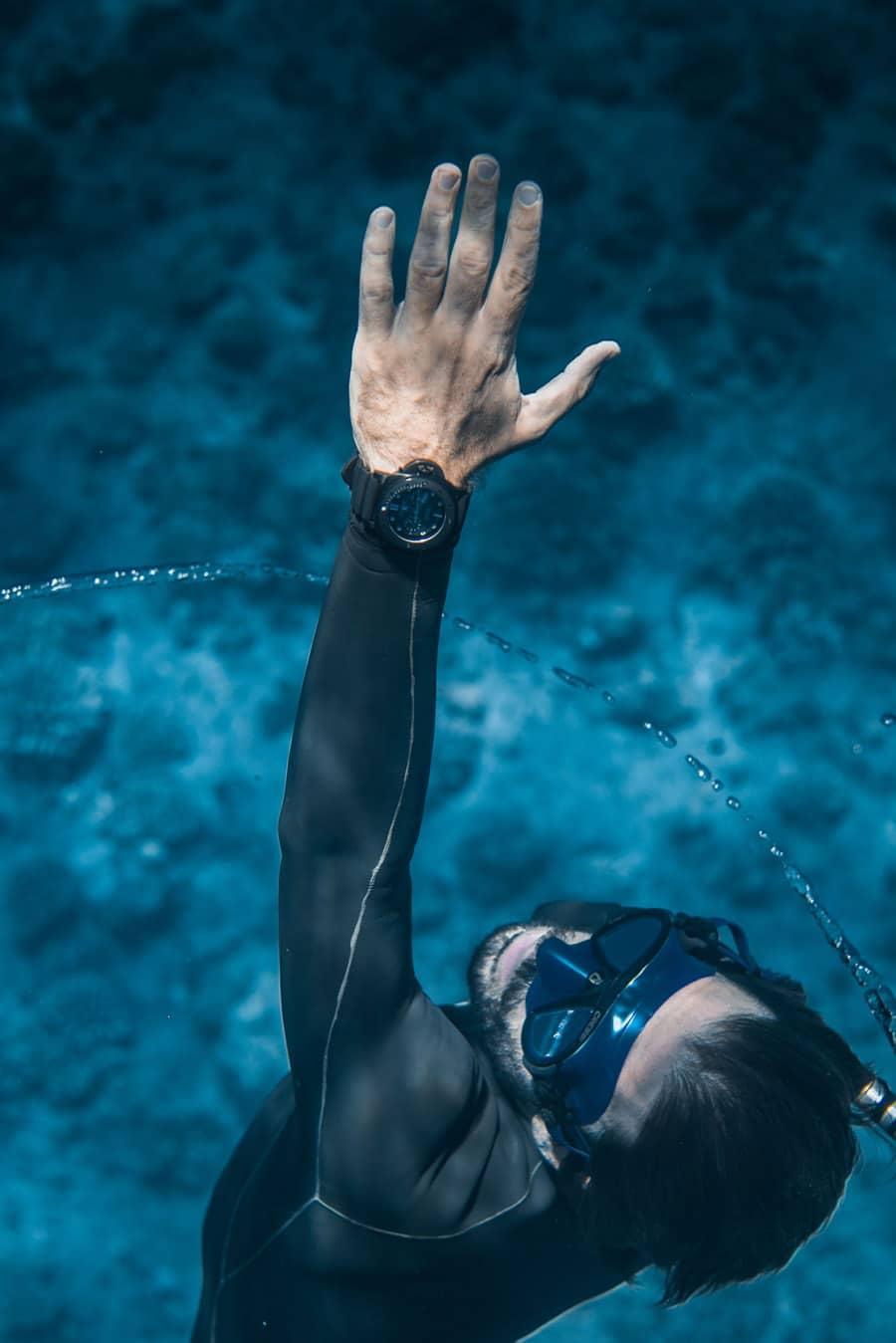 Taucheruhrenspecial 2021: Panerai Submersible Blu Notte Taucher