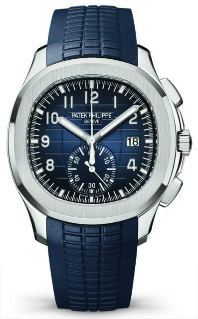 Patek Philippe: Aquanaut Chronograph Referenz 5968G Blau