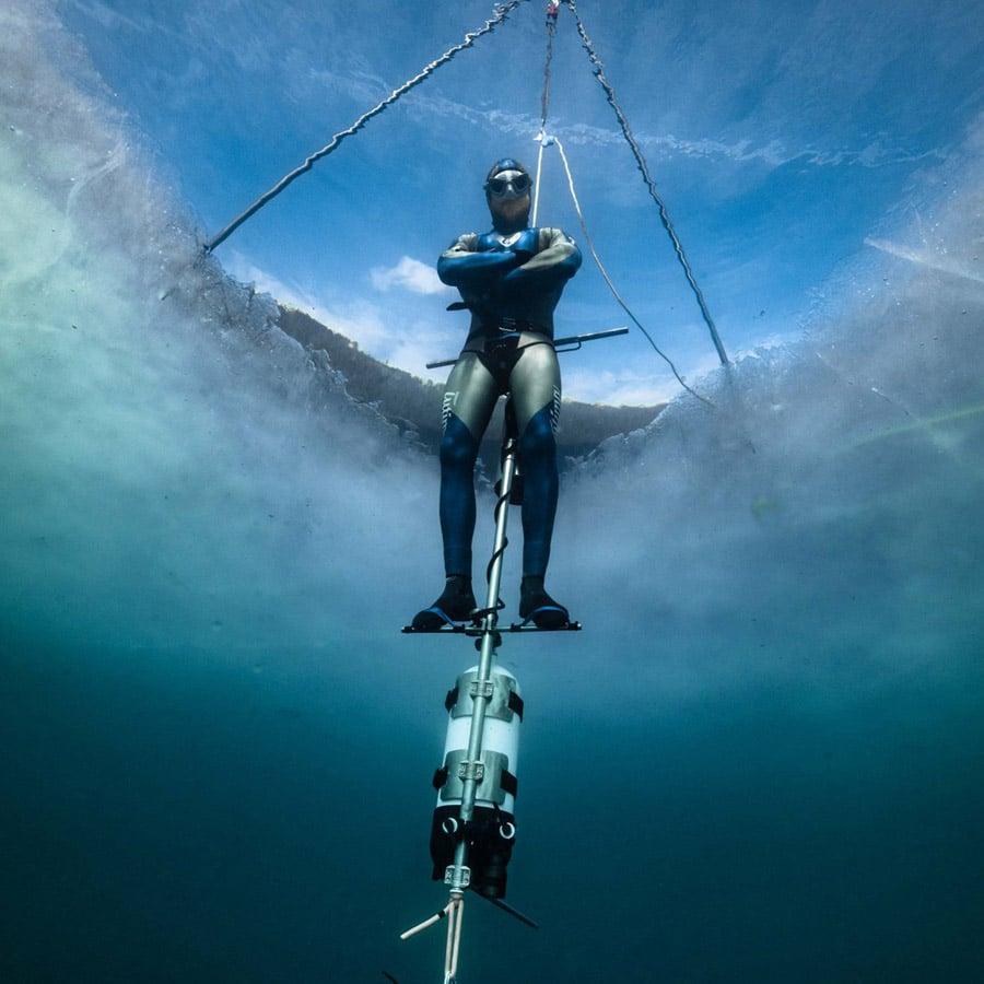 Taucheruhrenspecial 2021: Tutima: Tolga Taskin Weltrekord