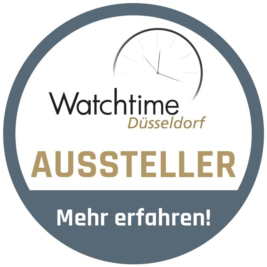 Watchtime Düsseldorf: Aussteller Button