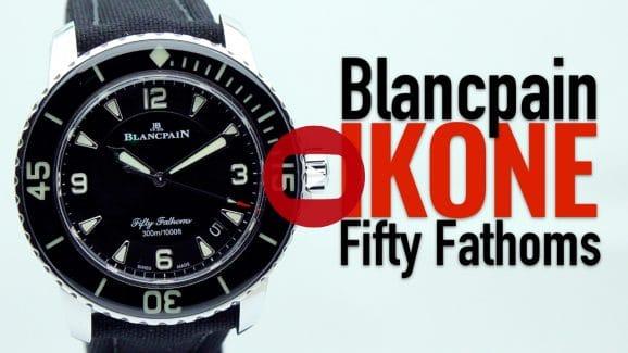 Video über die Taucheruhren-Ikone Blancpain Fifty Fathoms