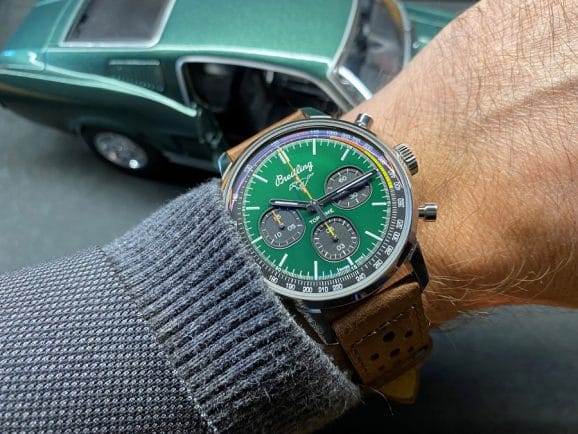 Wristshot: Breitling Top Time Ford Mustang