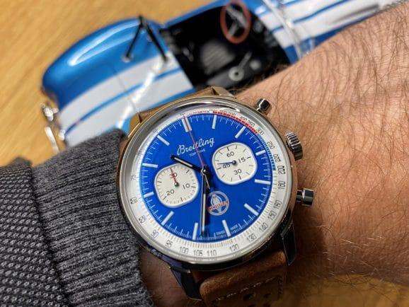 Wristshot: Breitling Top Time Shelby Cobra