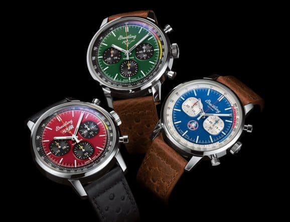 Breitling: Die drei Modelle der Top Time Classic Cars Capsule Collection