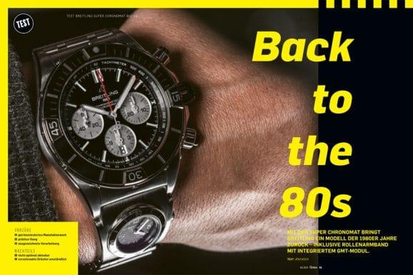 Ausführlich getestet: die brandneue Breitling Super Chronomat mit GMT-Modul im Armband