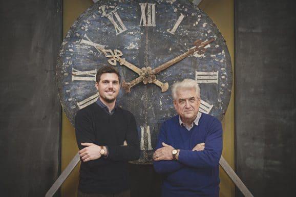 Circula: Geschäftsführer Cornelius Huber mit seinem Vater Heinz Huber