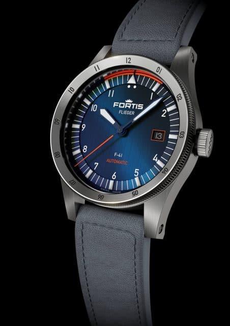 Fortis: Flieger Midnight Blue F-41