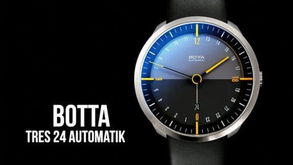 Hands-on Botta Tres 24 Automatik