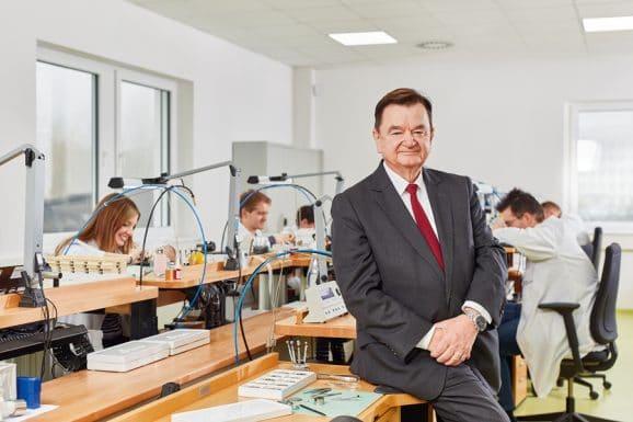 Sinn Spezialuhren: Geschäftsführer Lothar Schmidt