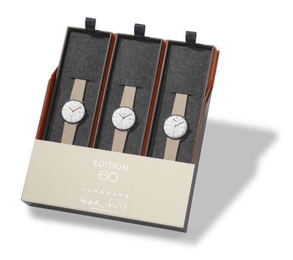 Junghans: Max Bill Edition Set 60 Box mit Uhren