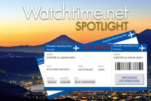 Letzte Chance: Watchtime Spotlight Grand Seiko