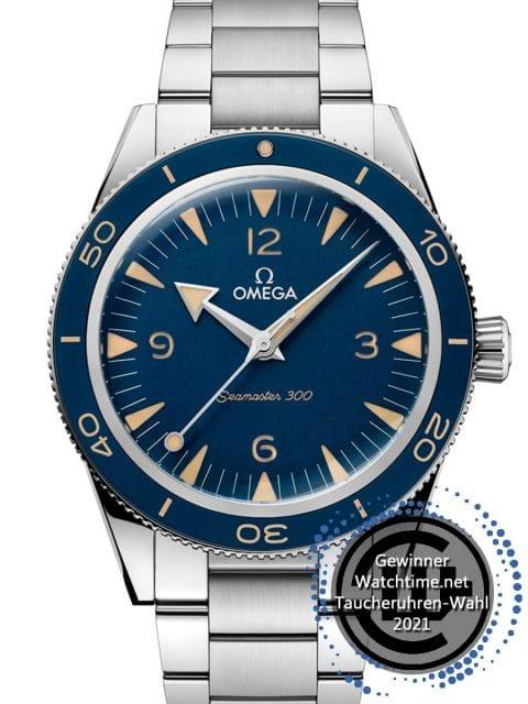 Gewinner: Omega: Seamaster 300 Co Axial Master Chronometer