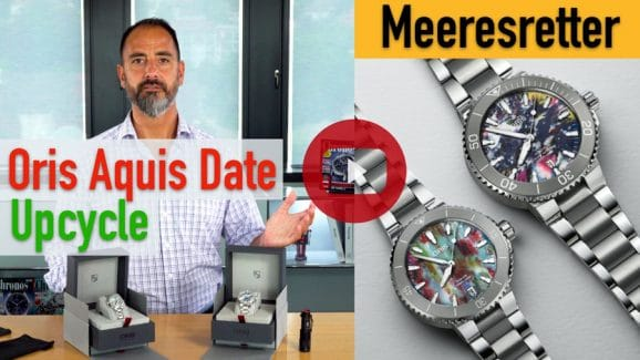 Hands-on-Video Oris Aquis Date Upcycle