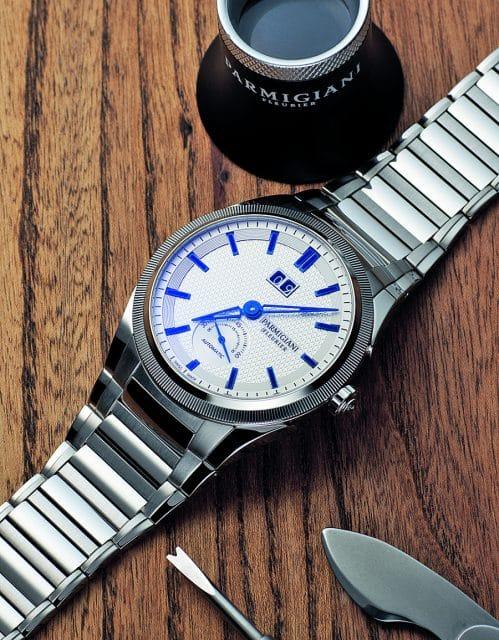Parmigiani: Tonda GT Steel Blue