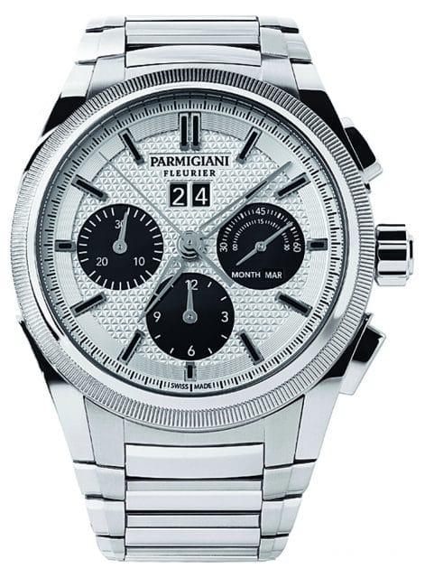 Parmigiani: Tondagraph GT Steel Silver Black