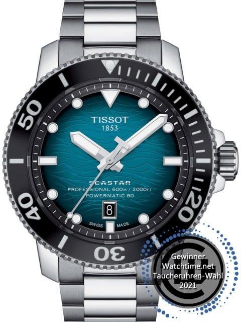Gewinner: Tissot: Seastar 2000 Professional Tuerkis