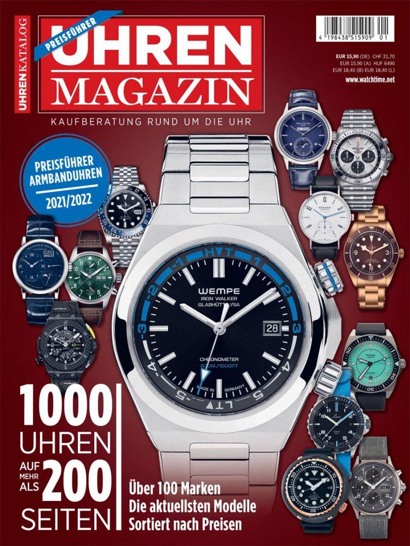 Produkt: Sonderheft UHREN-MAGAZIN Preisführer 2021/2022