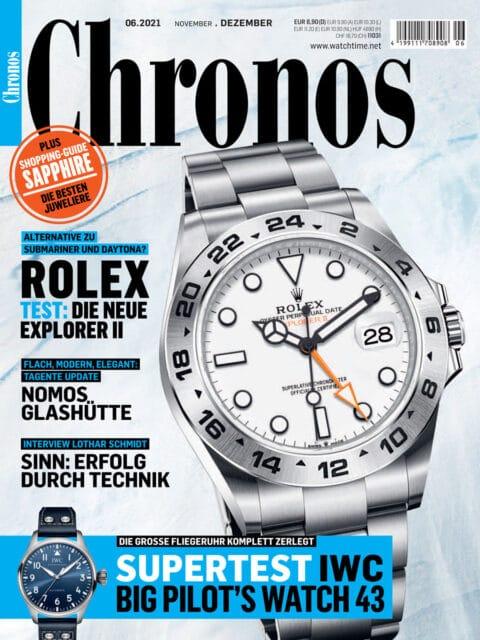 Chronos Ausgabe 06.2021 ist erschienen!