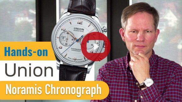 Video Union Glashütte Noramis Chronograph